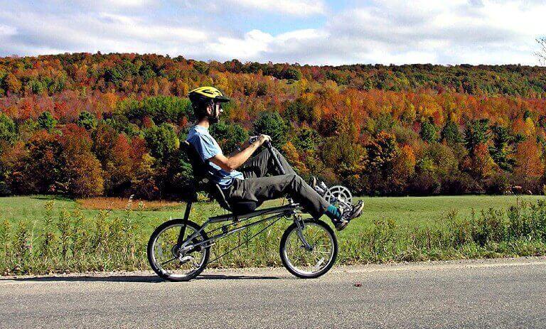 Recumbent Road Bike