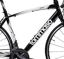 Aluminium frame for Tommaso Bike
