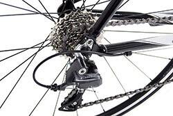 Tommaso Bikes Gear Mechanism