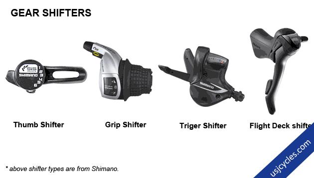 Road Bike Gear Shifters
